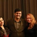 Ritika Sood, Murli Chhatwani, Julia Wessel
