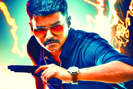 Theri Movie HQ Movie Posters