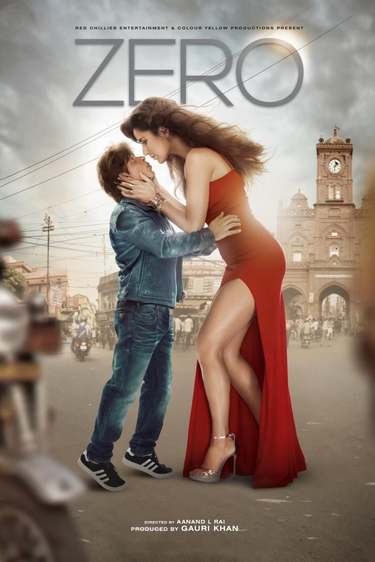 Zero  mit Shah Rukh Khan